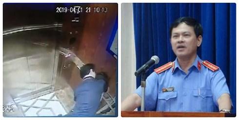Vụ bé gái bị sàm sỡ trong thang máy: Gia đình nạn nhân làm đơn tố cáo - Ảnh 1