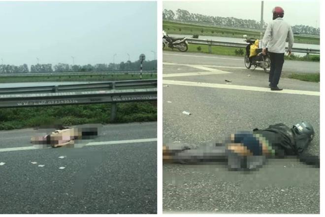 Va chạm với xe tải, cặp vợ chồng cùng con gái 3 tuổi tử vong thương tâm - Ảnh 1