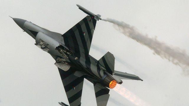 Chiến đấu cơ F-16 của Hà Lan tự bắn vào thân, phải hạ cánh khẩn - Ảnh 1