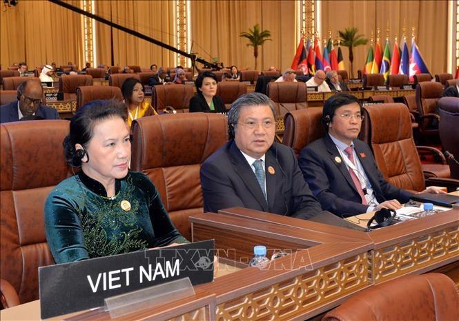 Chủ tịch Quốc hội phát biểu tại Phiên thảo luận toàn thể Đại hội đồng IPU-140 - Ảnh 2