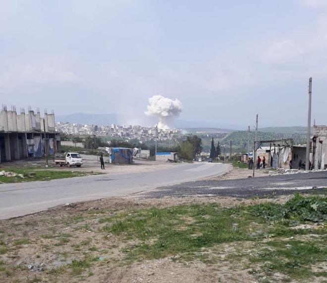Tình hình Syria: Nga ồ ạt phóng tên lửa hành trình tiêu diệt khủng bố ở Idlib - Ảnh 1