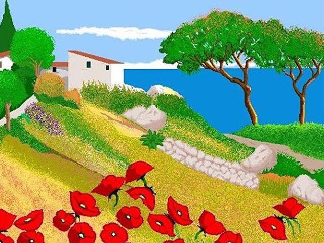 Bất ngờ trước những bức tranh sống động vẽ bằng Microsoft Paint của cụ bà 88 tuổi  - Ảnh 5