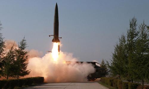 Hàn Quốc bác phân tích của Bộ Quốc phòng Mỹ về tên lửa mới của Triều Tiên - Ảnh 1
