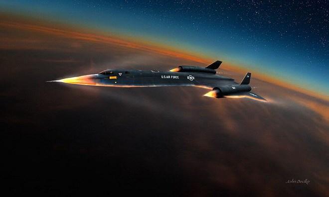 """Hé lộ tiêm kích """"khóa"""" được máy bay trinh sát nhanh nhất thế giới của Mỹ - Ảnh 2"""