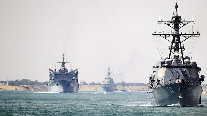 Căng thẳng Mỹ-Iran: Nhóm tác chiến tàu sân bay Washington đã vào vị trí, sẵn sàng phản ứng các mối đe doạ - Ảnh 1