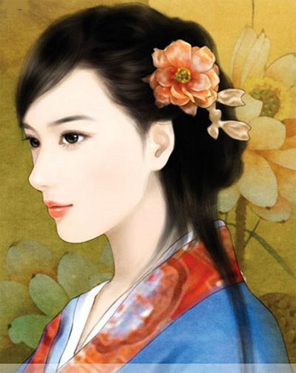 Chân dung ngũ đại mỹ nhân nổi tiếng bậc nhất thời Trung Hoa cổ đại  - Ảnh 2