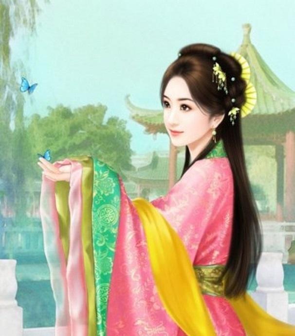 Chân dung ngũ đại mỹ nhân nổi tiếng bậc nhất thời Trung Hoa cổ đại  - Ảnh 5