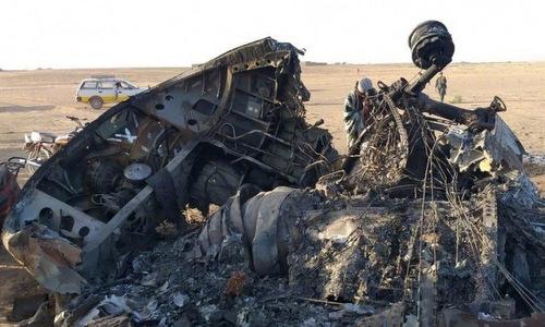 Trực thăng vận tải quân sự của Mỹ bất ngờ lao xuống đất, cháy rụi tại Afghanistan - Ảnh 1