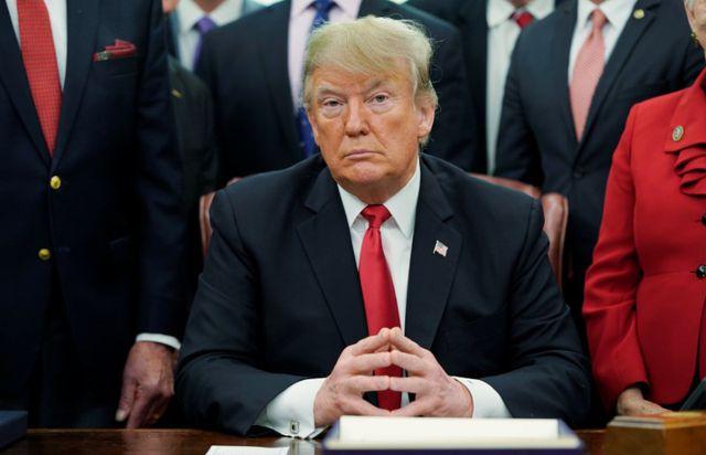 """Tổng thống Trump: Mỹ """"chưa sẵn sàng"""" ký thỏa thuận thương mại với Trung Quốc - Ảnh 1"""