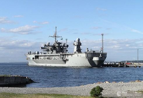 Tin tức quân sự mới nóng nhất hôm nay 31/5/2019: Tàu chỉ huy hải quân Mỹ tiến vào biển Baltic - Ảnh 1