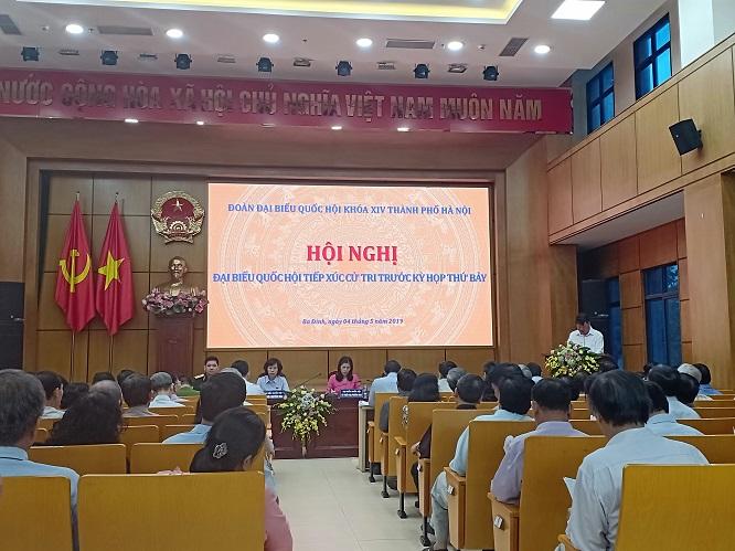 Cử tri Hà Nội: Vui mừng khi biết sức khỏe Tổng Bí thư, Chủ tịch nước đã ổn định - Ảnh 1