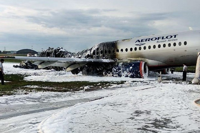 """Cháy máy bay khiến 41 người chết ở Nga: Chuyện chưa kể về những """"người hùng áo đỏ"""" - Ảnh 2"""