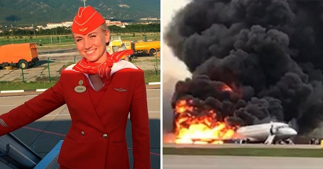 """Cháy máy bay khiến 41 người chết ở Nga: Chuyện chưa kể về những """"người hùng áo đỏ"""" - Ảnh 1"""