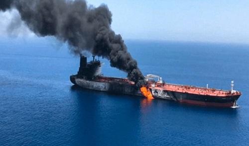 Tin tức thế giới mới nhất hôm nay 14/6/2019: Mỹ cáo buộc Iran tấn công hai tầu chở dầu ở Vịnh Oman - Ảnh 1