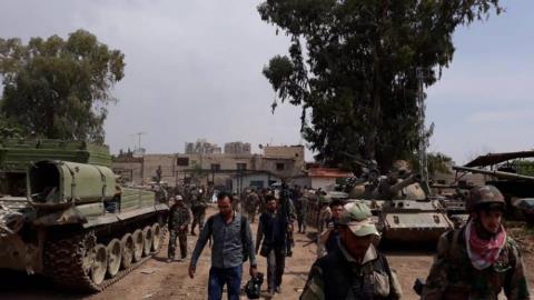 Lực lượng khủng bố tiếp tục tấn công căn cứ trọng điểm của Nga tại Syria - Ảnh 2