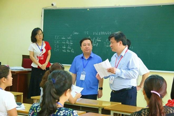 Hà Nội dự kiến quét xong tất cả bài thi trắc nghiệm trong ngày mai (1/7) - Ảnh 1