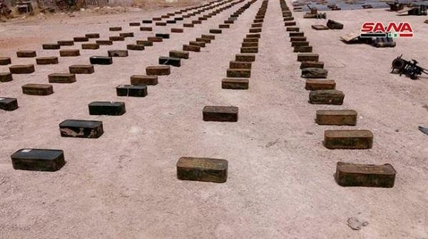 Phát hiện tên lửa chống tăng của Mỹ trong hang ổ khủng bố ở Syria - Ảnh 1