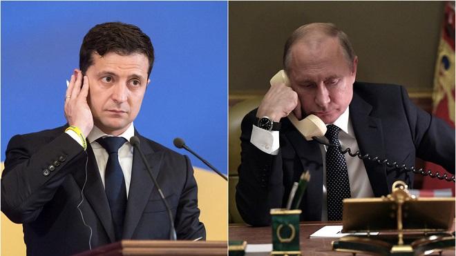 Hé lộ nội dung cuộc điện đàm đầu tiền giữa Tổng thống Putin và tân Tổng thống Ukraine - Ảnh 1