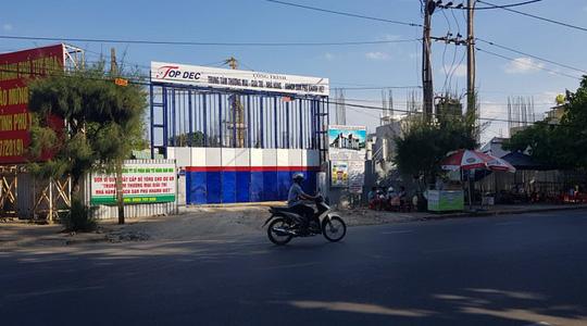 Phú Yên: Cưỡng chế lập biên bản đối với khu đất 80 Nguyễn Huệ, TP.Tuy Hòa - Ảnh 1