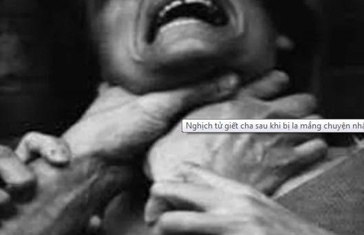 Quảng Ngãi: Bực tức vì bị la mắng, nghịch tử nhẫn tâm bóp cổ cha tử vong - Ảnh 1