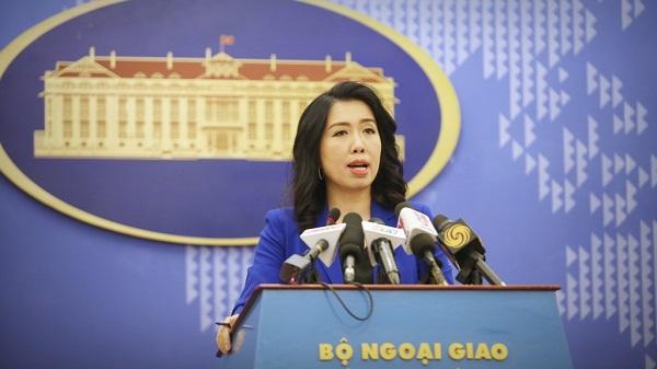 Bộ Ngoại giao Việt Nam nói về tình hình gần đây ở Biển Đông - Ảnh 1