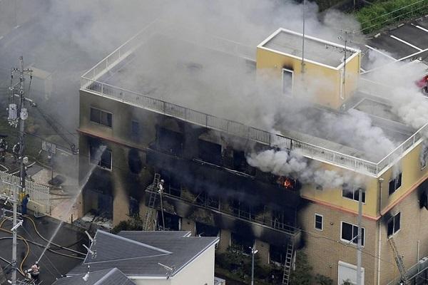 Cháy lớn tại xưởng phim hoạt hình nổi tiếng tại Nhật Bản, ít nhất 12 người thiệt mạng - Ảnh 1
