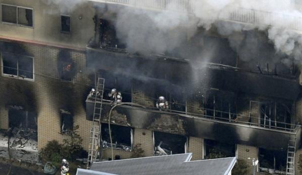 Cháy lớn tại xưởng phim hoạt hình nổi tiếng tại Nhật Bản, ít nhất 12 người thiệt mạng - Ảnh 2