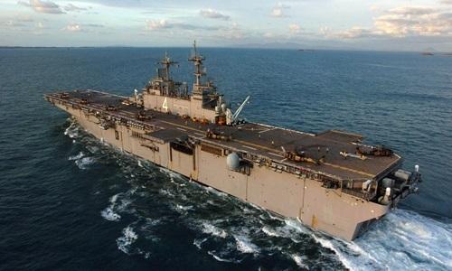 Nóng: Mỹ tuyên bố bắn hạ máy bay không người lái của Iran ở vùng Vịnh  - Ảnh 1