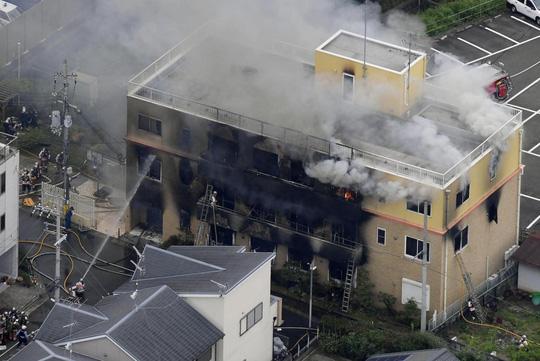 Vụ cháy xưởng phim tại Nhật Bản, ít nhất 33 người chết: Lời khai bất ngờ của nghi phạm - Ảnh 2