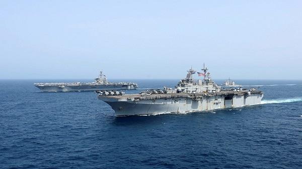 Thủy thủ Mỹ bất ngờ mất tích trên vùng biển gần Iran - Ảnh 1