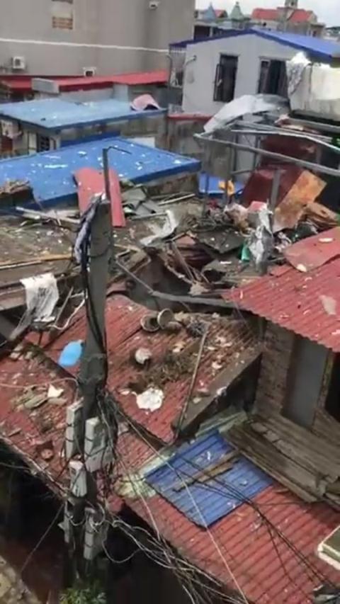 Nhân chứng vụ nổ làm 1 người tử vong ở Hải Phòng: Khói bốc mù mịt, rung như động đất - Ảnh 1