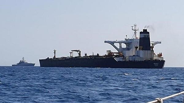 Anh bắt giữ siêu tàu MT Grace 1 của Iran nghi chở dầu tới Syria - Ảnh 1