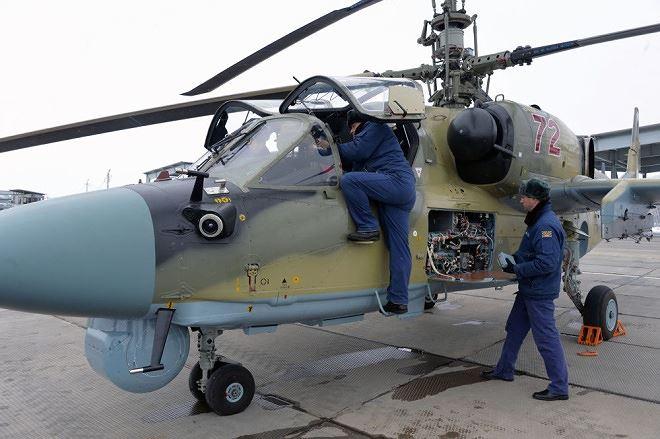 """Video: """"Cá sấu bay"""" Ka-52 Nga nã tên lửa tiêu diệt khủng bố tại Syria  - Ảnh 1"""