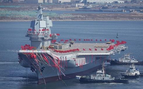 """Tàu sân bay nội địa đầu tiên của Trung Quốc sở hữu sức chứa """"khủng""""  - Ảnh 1"""