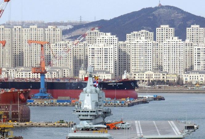 """Tàu sân bay nội địa đầu tiên của Trung Quốc sở hữu sức chứa """"khủng""""  - Ảnh 2"""