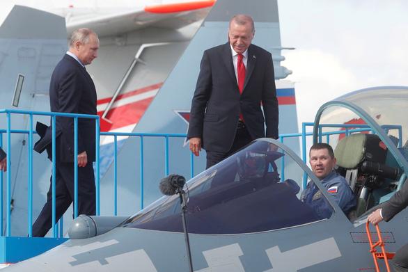 Nga tuyên bố sẵn sàng giúp đỡ Thổ Nhĩ Kỳ phát triển tiêm kích thế hệ mới sau thương vụ S-400 - Ảnh 2