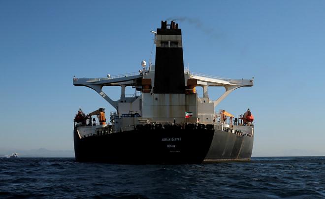 Bộ Tài chính Mỹ thẳng tay liệt siêu tàu dầu Iran vào danh sách đen - Ảnh 1