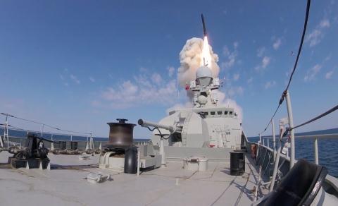 """Nga tiết lộ sức mạnh đáng gờm của tên lửa """"sát thủ"""" Kalibr - Ảnh 1"""