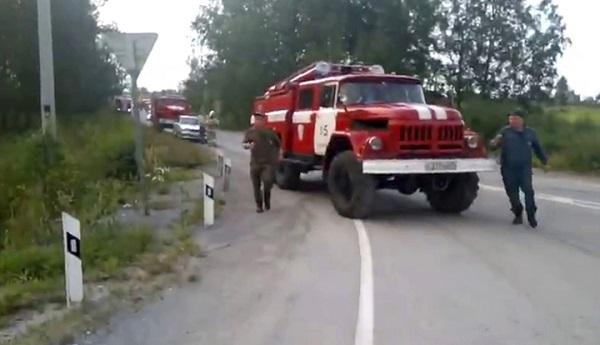 Cận cảnh vụ nổ kho đạn pháo lớn của Nga, ít nhất 8 người thương vong - Ảnh 5