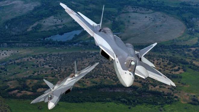 """""""Bóng ma bầu trời"""" Su-57 của Nga: Siêu tiêm kích không có đối thủ?  - Ảnh 1"""
