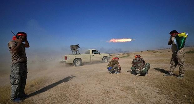 Một máy bay không người lái bị bắn hạ khi đang tìm cách tấn công quân đội Iraq - Ảnh 1