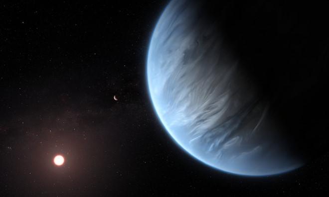 Phát hiện hành tinh to gấp đôi Trái Đất, có nước nằm ngoài hệ Mặt trời - Ảnh 1