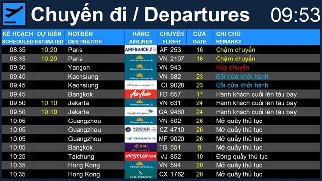 Sân bay Tân Sơn Nhất chính thức ngừng phát thanh thông tin chuyến bay từ ngày 1/10 - Ảnh 2