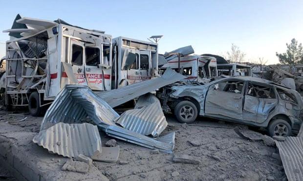 Tin tức quân sự mới nóng nhất hôm nay 19/9: Đánh bom sát căn cứ tình báo Afghanistan, hơn 100 người thương vong - Ảnh 1