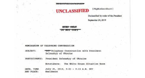 Công bố nội dung cuộc điện đàm gây tranh cãi giữa tổng thống hai nước Mỹ-Ukraine - Ảnh 2
