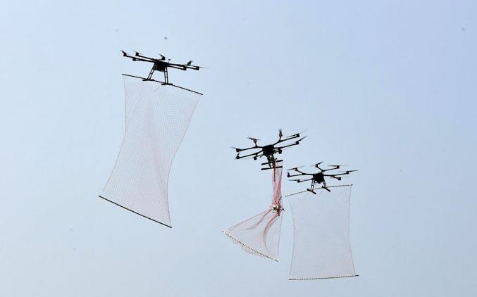 """Trung Quốc trình làng UAV """"Người nhện"""" sở hữu khả năng tuyệt kỹ bắt drone - Ảnh 1"""