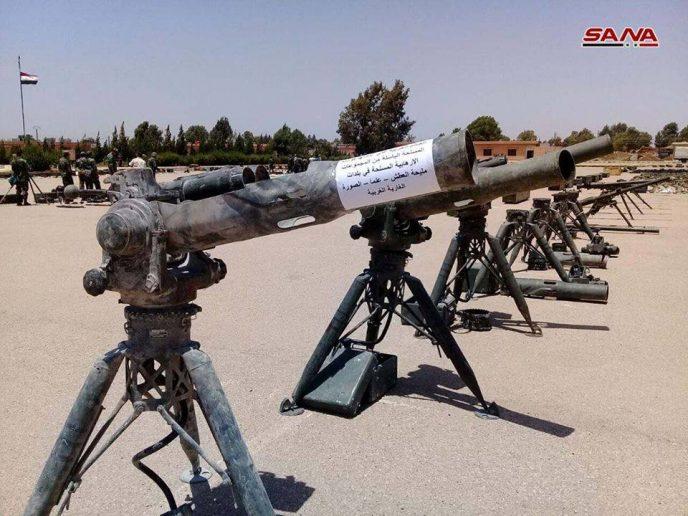 Tin tức thế giới mới nóng nhất ngày 2/1: Phát hiện điều bất ngờ trong kho vũ khí của khủng bố tại Syria - Ảnh 1