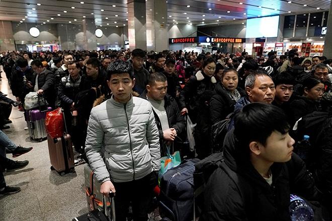 """Xuân vận tại Trung Quốc: """"Cuộc di cư"""" thường niên lớn nhất thế giới - Ảnh 1"""