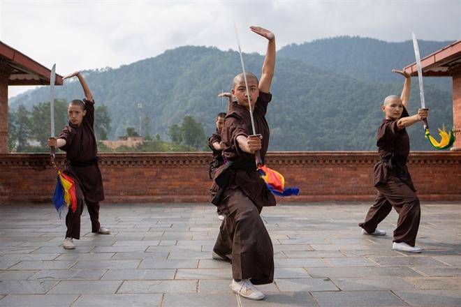 Gặp gỡ những nữ tu luyện kungfu trên dãy Himalaya - Ảnh 3
