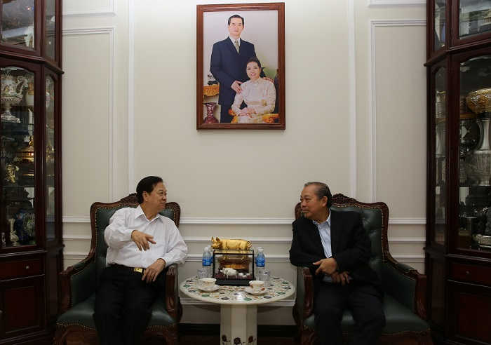 Phó Thủ tướng thăm, chúc Tết nguyên lãnh đạo Nhà nước, Chính phủ - Ảnh 2